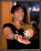 Ever the hostess, Beth Sorrell serves up plenty of personality with every cocktail.