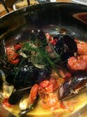 Steamed Prince Edward Island Mussels