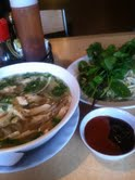 The whole pho kit and kaboodle.